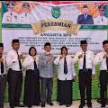 Cakades Belantaraya Kecamatan Gaung  Hasbullah Jali Menghadiri Pelantikan Sembilan Anggota BPD