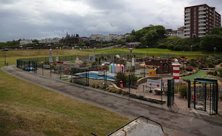 Landmark Adventure Golf course in New Brighton