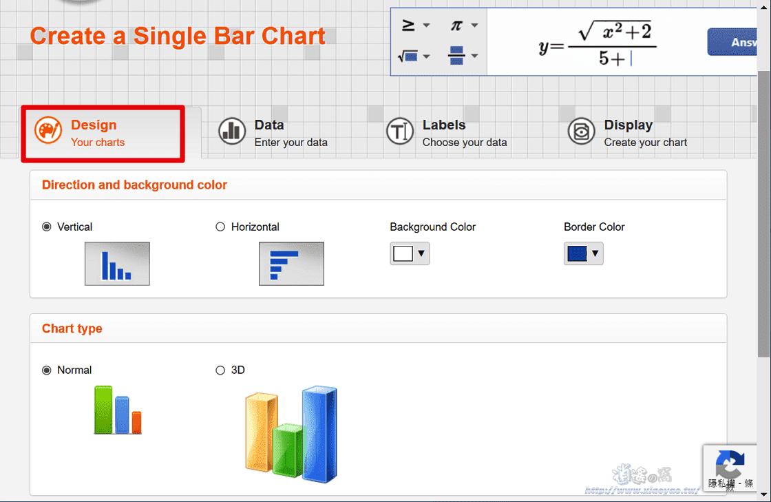 Meta-Chart免費統計圖表產生器,提供12種圖表版型可輸出 PNG、SVG、PDF 格式