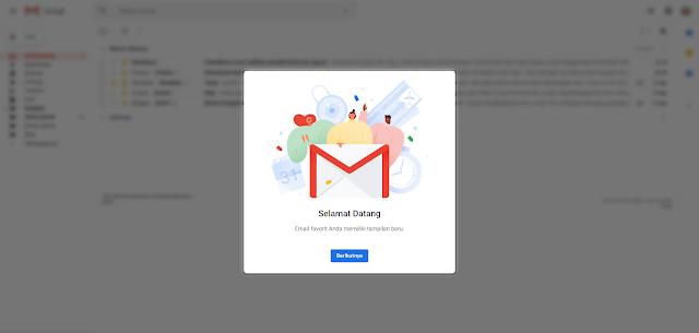 Cara Mengaktifkan Tampilan Gmail Versi Terbaru