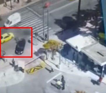 Το συγκλονιστικό βίντεο από την στιγμή του τροχαίου δυστυχήματος έξω από τη Βουλή