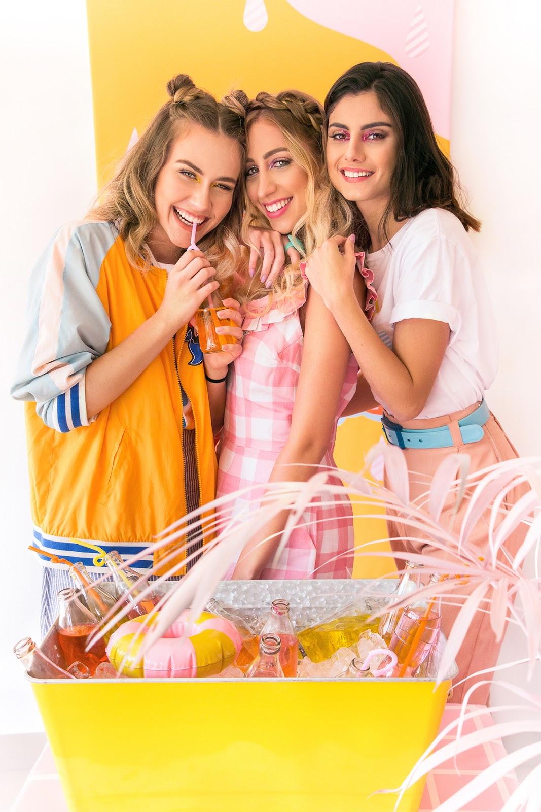 lorena loschi, ju viegas, gabi paraizo museum of ice cream party