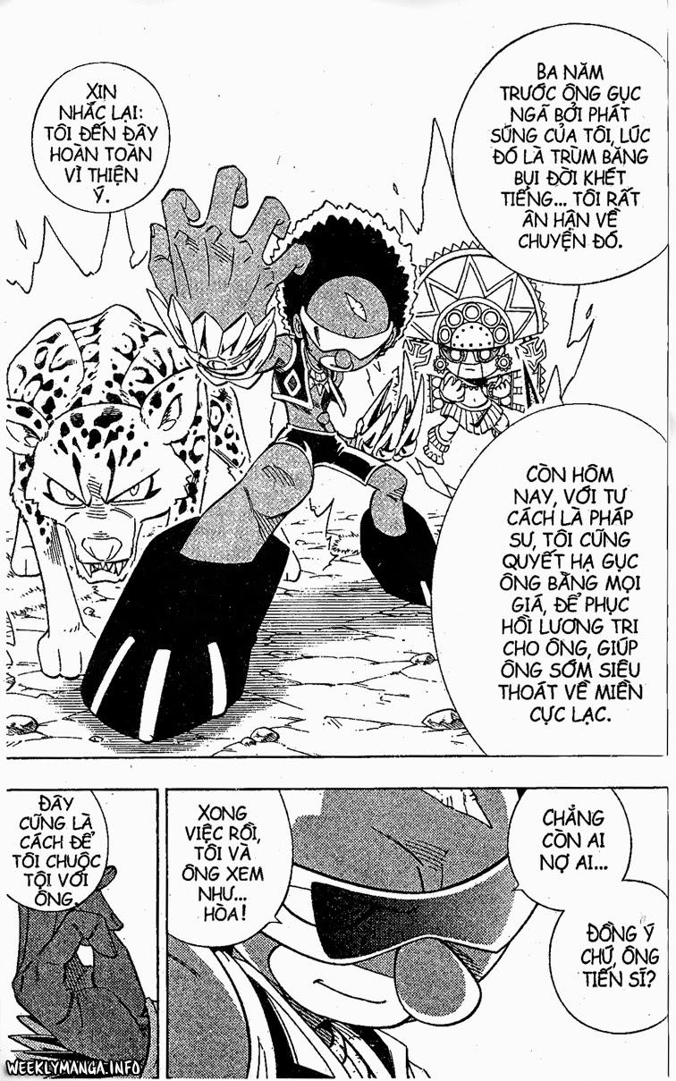 Shaman King [Vua pháp thuật] chap 205 trang 14
