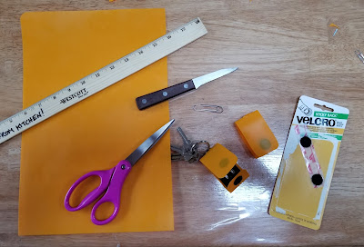 Materials to make a key fob cover