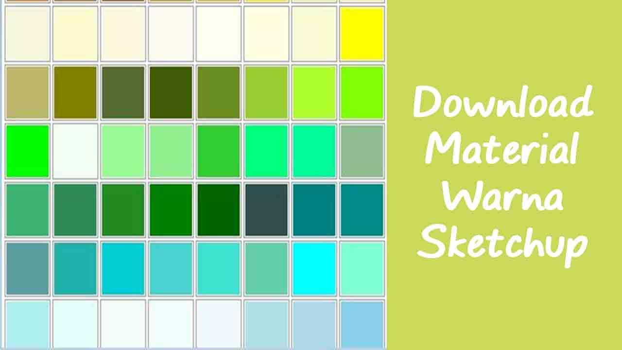 Download Material Warna SketchUp