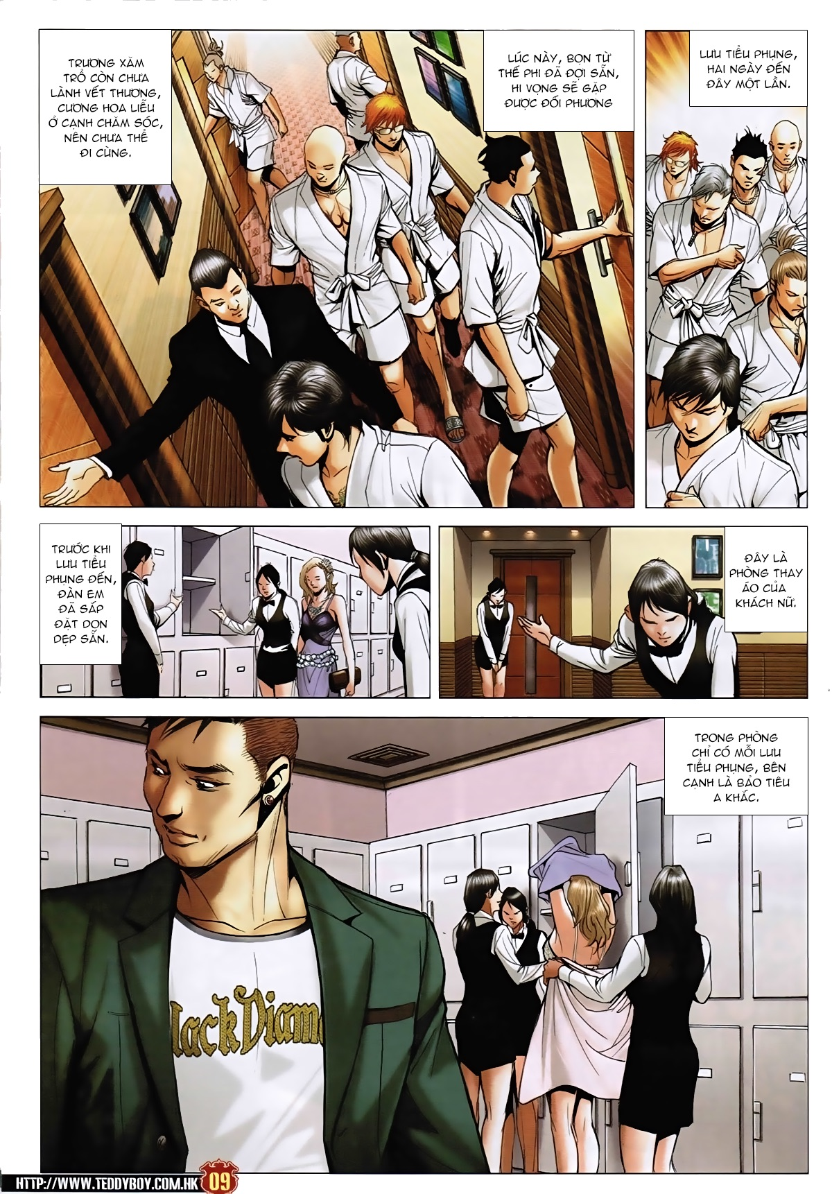 Người Trong Giang Hồ - Chapter 1587: Đầu ngọn sóng - Pic 8