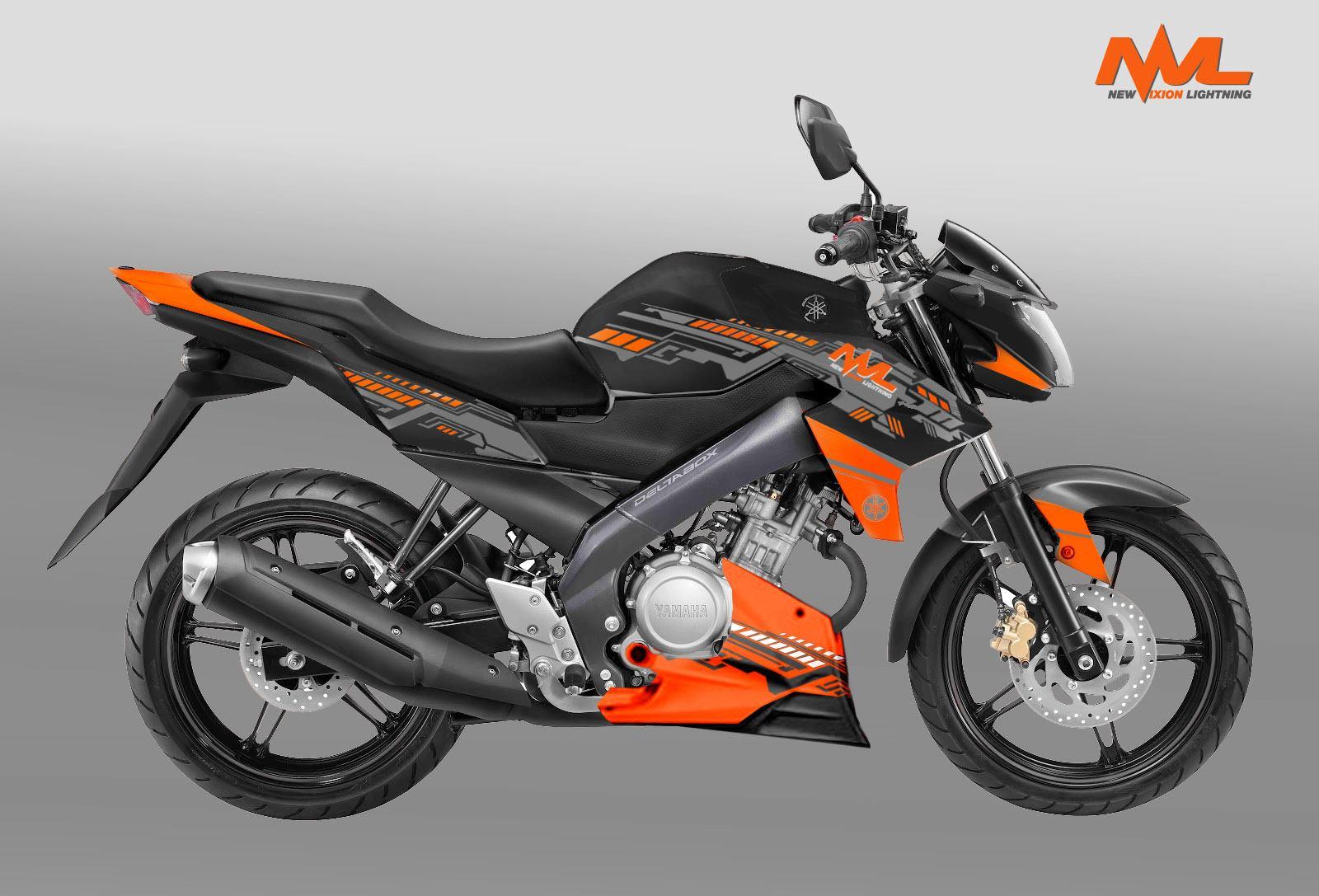 Modifikasi Motor Yamaha New Vixion Gambar Foto Modifikasi