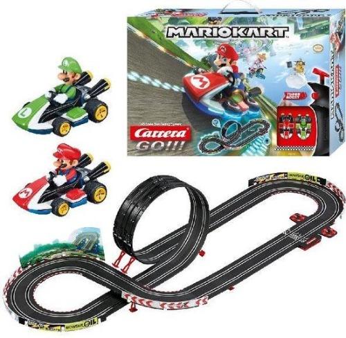 Carrera Mario Kart racebaan