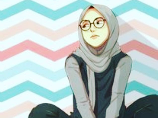 Cute and funny Hijaber Cartoons