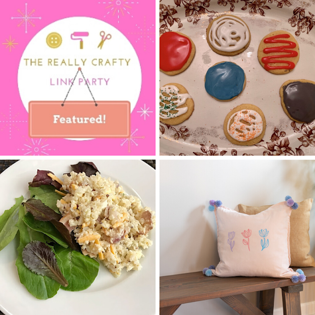 The Really Crafty Link Party #206 featured posts