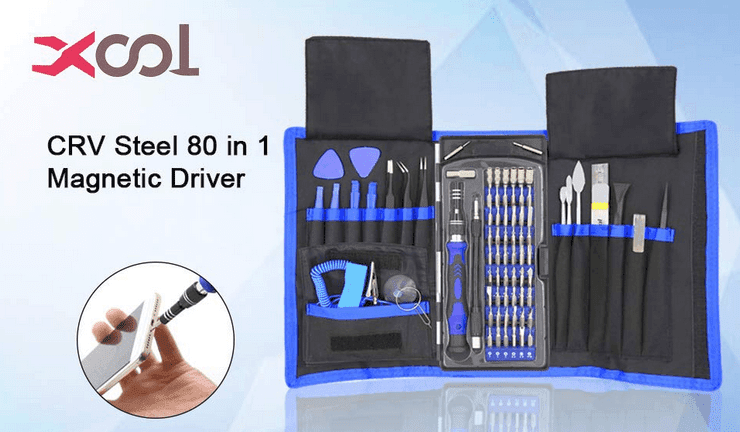 XOOL 80 in 1 Precision Screwdriver Set