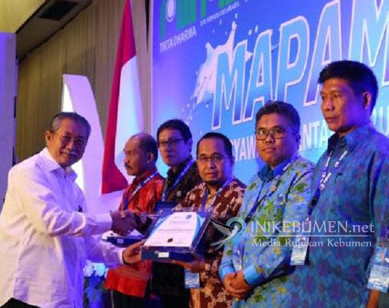 PDAM Kebumen Raih Penghargaan Nasional