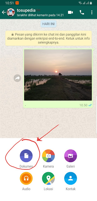 Kirim Gambar/Foto Kualitas Tinggi di WhatsApp