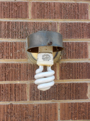 change an old porch light