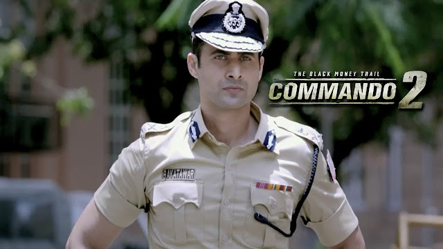 Commando 2 Movie Police Man Wallpaper