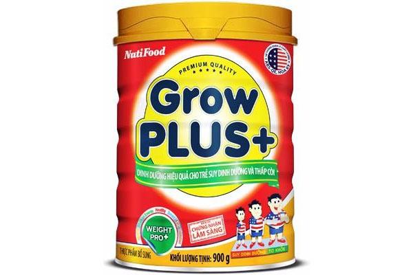 GrowPLUS Đỏ là sữa cho bé suy dinh dưỡng và thấp còi, là một nghiên cứu đột phá của Chuyên gia dinh dưỡng NutiFood dành cho trẻ em Việt Nam trên 1 tuổi