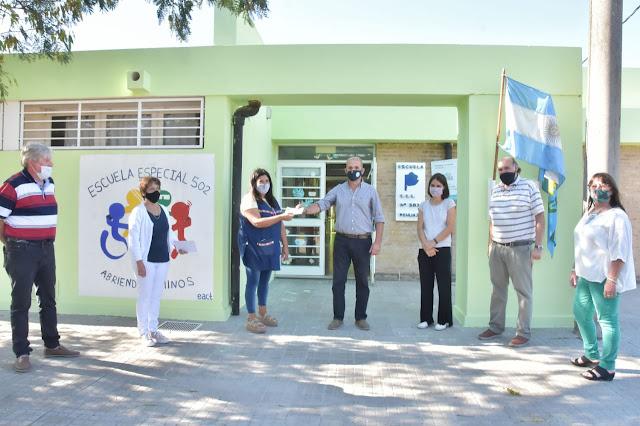 Subsidio municipal a la Escuela Especial 502