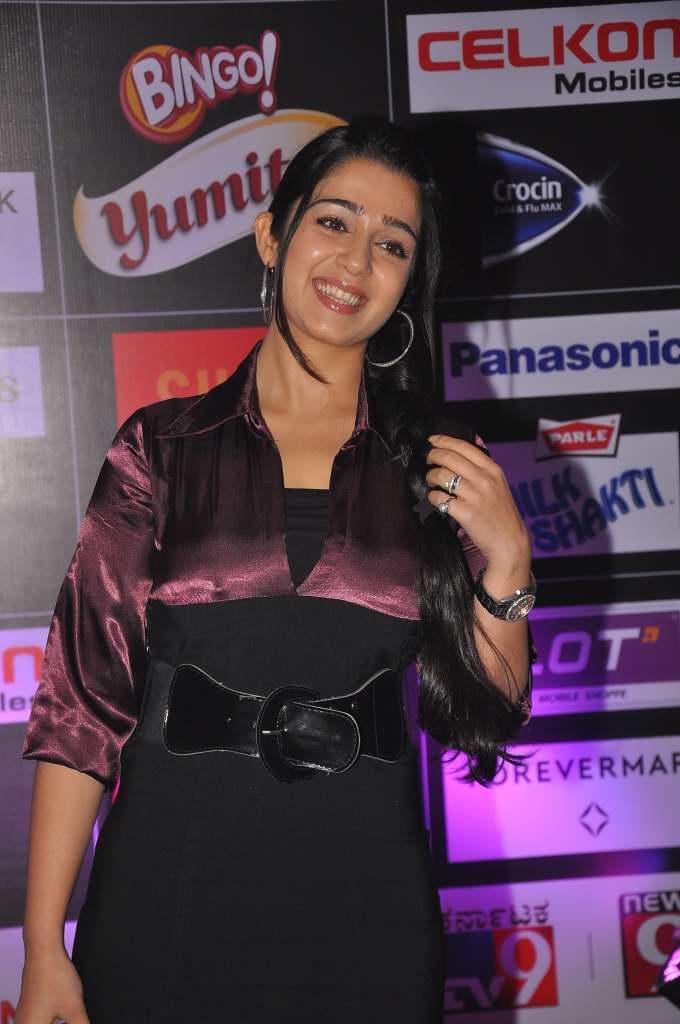 Charmi glamorous pics at siima pre party