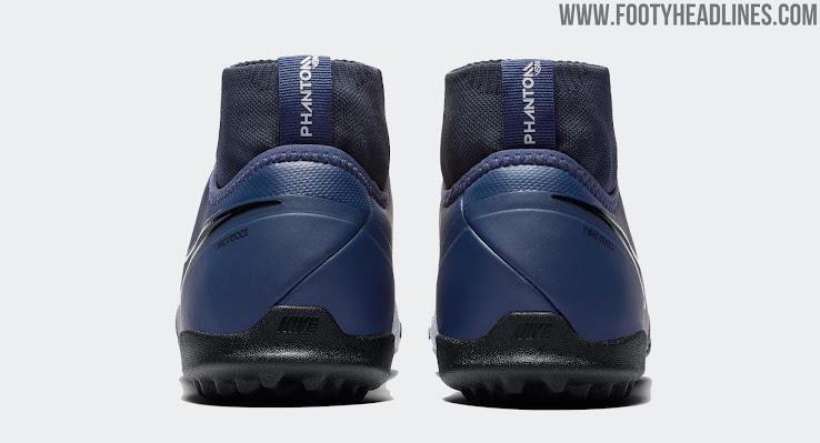 57780625cbd Special  Midnight Navy   Wolf Grey   Nike React Phantom VSN Boots ...