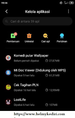 aplikasi tidak dikenal