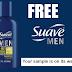Free Sample Bottle of Suave Men 3-in-1 Citrus Rush Shampoo, Conditoner & Bodywash