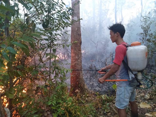 Kebakaran Lahan di Muratara Kian Meluas