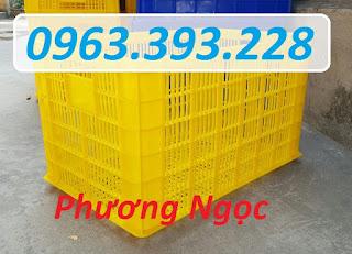 Sọt nhựa rỗng có bánh xe, sọt nhựa kéo hàng, sọt nhựa công nghiệp 636f56baf9961cc84587