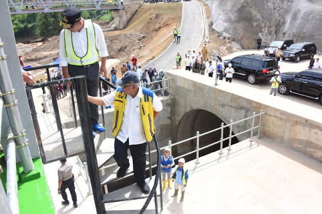 Presiden Jokowi dijadwalkan resmikan Terowongan Nanjung di Bandung