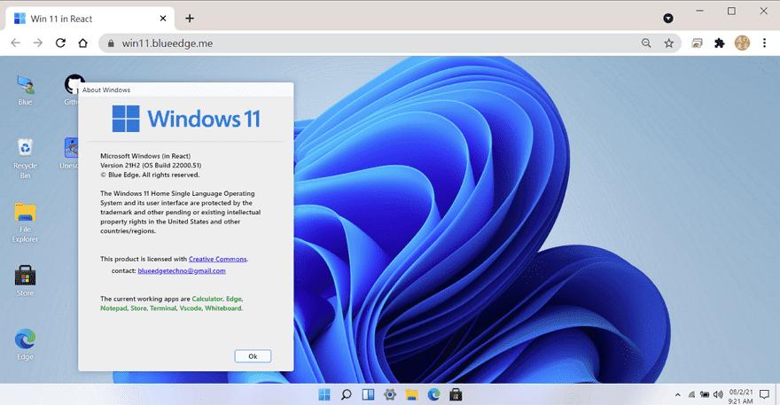 免安裝/線上體驗 Windows 11 桌面