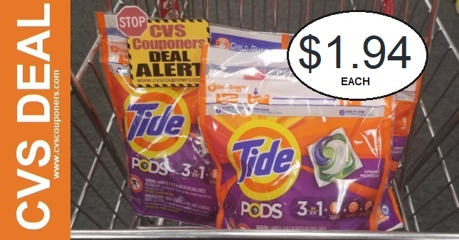 Tide Pods Coupon Deal $1.94 5-17-5-23