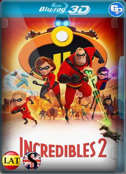 Increíbles 2 (2018) 3D SBS LATINO/INGLES