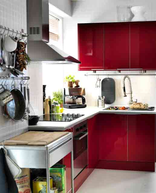 Kitchen Design Ideas For Small Kitchens November 2012: New Home Decoration: 25 Cool Small Kitchen Decorating Ideas