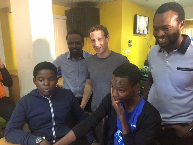 facebook founder mark zuckerberg in lagos nigeria