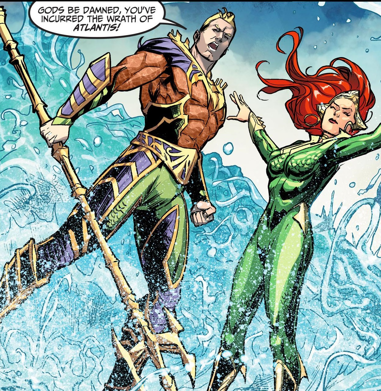 poseidon and aquaman Aquaman, a superhero and long-time member of the justice league of america, is an atlantean as is the case with most atlanteans, aquaman can be classified as a greco-roman classical religionist who worships neptune (also known as poseidon), the greco-roman god of the ocean.