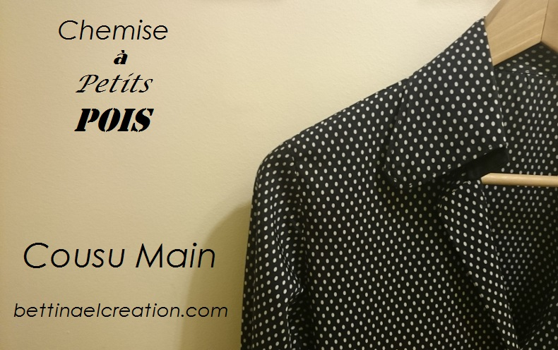 Top Chemise homme ou femme a Motif Bettinael.Passion.Couture.Made in  EC52
