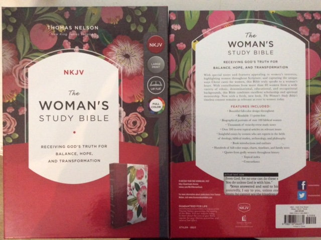Review of 'The Woman's Study Bible NKJV' Large Print Full