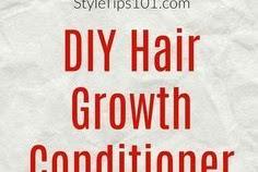 DIY Hair Growth Conditioner