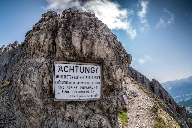 Fordernde MTB Tour Reither Spitze Bikebergsteigen BBS