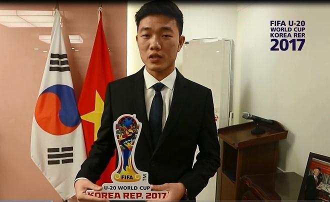 Xuân Trường cũng đến tham dự buổi lễ bốc thăm U20 World Cup