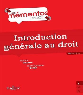 introduction générale sur le droit pdf