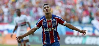 Bahia toma gol no final e empata com o São Paulo