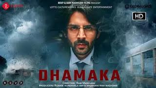 Dhamaka movie poster