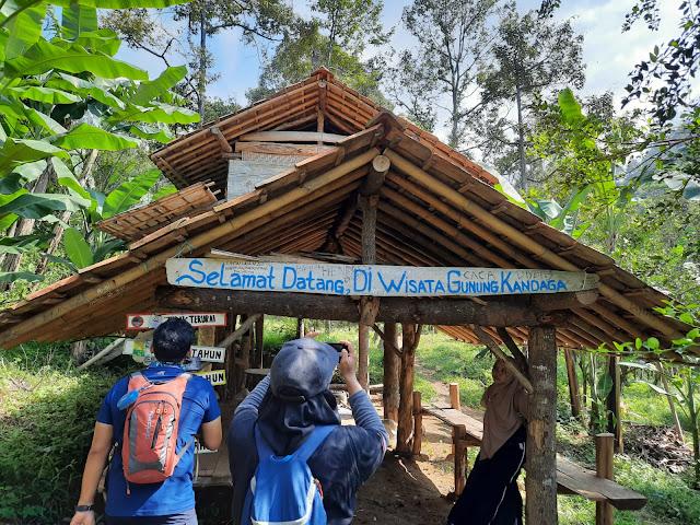 Selamat datang di Gunung Kandaga