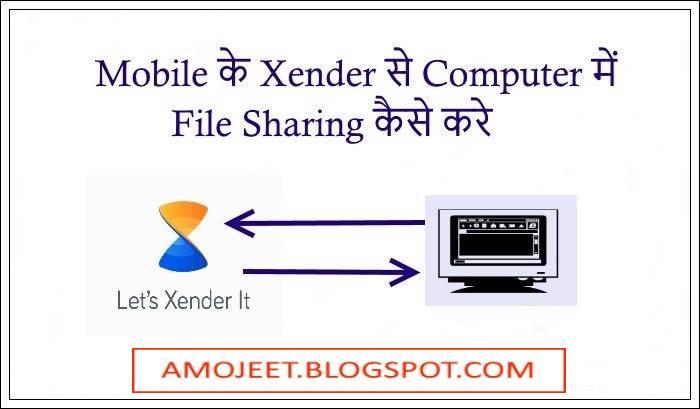 Mobile Xender Se Computer Me File Share Kaise Kare,पूरी जानकारी