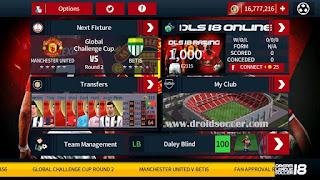 DLS 2018 Mod Manchester United by Tomsakda