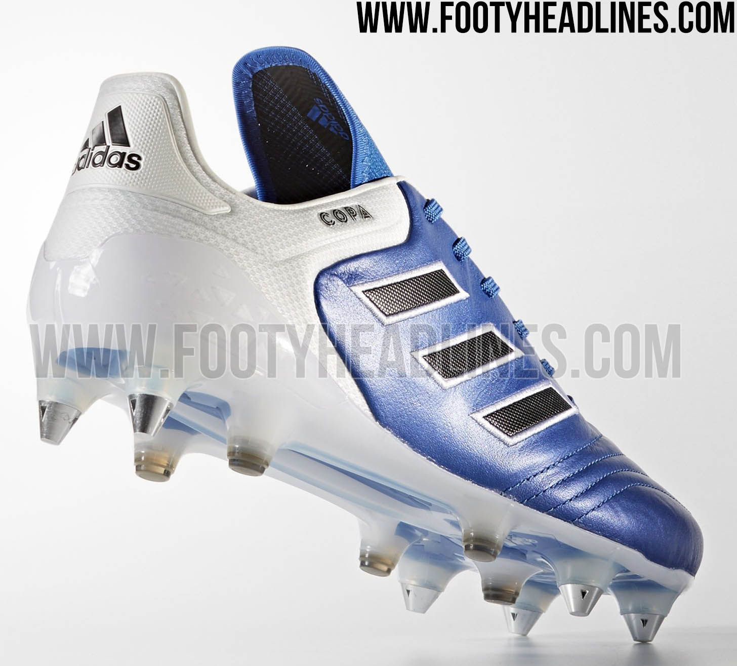 best service 7f976 11ab2 blue adidas boots