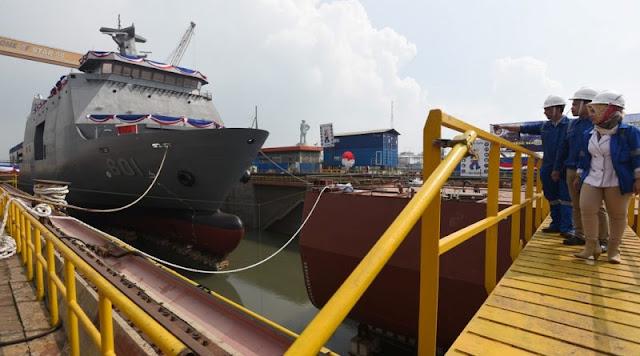 Kapal Produksi PT PAL Dilirik Negara Asia dan Timur Tengah