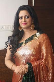 Udaya Bhanu lookssizzling in a Saree Choli at Gautam Nanda music launchi ~ Exclusive Celebrities Galleries 065.JPG