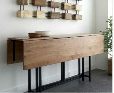 Meja Lipat kayu Berukuran Sedang Dengan Manfaat Maksimal
