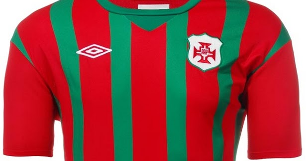 57b70bfefe Portuguesa Santista divulga as camisas para 2016 - Show de Camisas